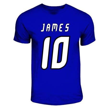 UKSoccershop James Rodriguez Porto Hero T-Shirt (Royal Blue)