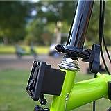 YGQersh Support de Support de Sac de Bloc de vélo pour Porte-vélo Avant pour vélo Pliant Brompton - Noir