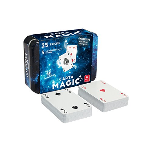 """Cartamundi 22567070-\"""" Carta Magic-25 Tricks Kartenspiel, Zauberkarten"""