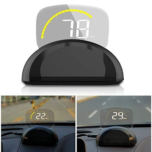 Preisvergleich Produktbild GREATBOX 3, 5 Zoll LCD Full HD HUD Display OBD2 EUOBD Lichtsensor Dekorative Lichter MPH / KMH RPM Icon Wassertemperatur Spannung Single Mileage Scanner Diagnosegerät innerhalb Smart Digital Tachometer