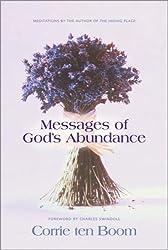Messages of God's Abundance by Corrie ten Boom (2002-09-01)