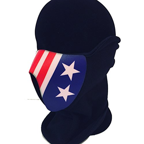 Aliens USCM, US Colonial Marine, Aliens Film inspiriert LED EL Panel Maske, Rave Maske, Cyberpunk Maske, Kostüm Maske, Cosplay Maske, Fancy Dress Maske, Tanz Musik Maske für Club Rave und Festivals. (Colonial Marine Kostüm)