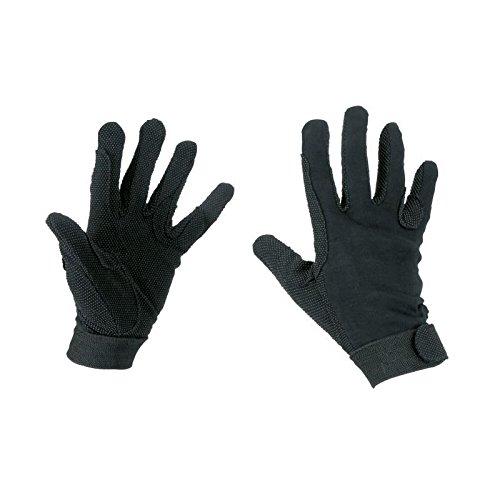 Kerbl Reithandschuhe, Jersey-Baumwolle Handschuhe Noppen, Unisex, XL
