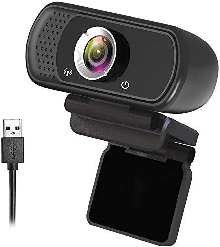 GoHZQ HD 1080P USB Webcam Digitalkamera mit Stereo-Mikrofon Webcam für PC Laptop Desktop Mac Video Anruf Aufnahme Konferenzen