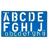 Alphabet Stencil Signwriting Kit 50mm Upper & Lower Case