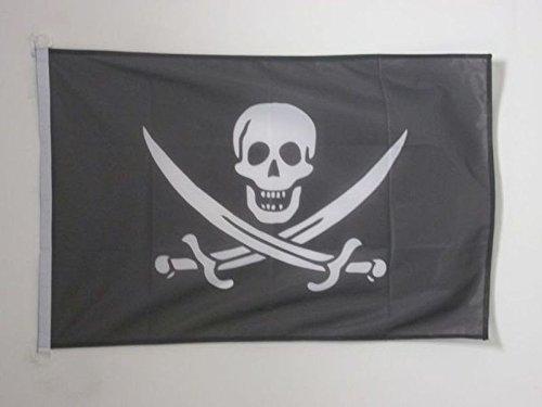 AZ FLAG Bandera Pirata Jack Rackham 90x60cm Uso Exterior -...