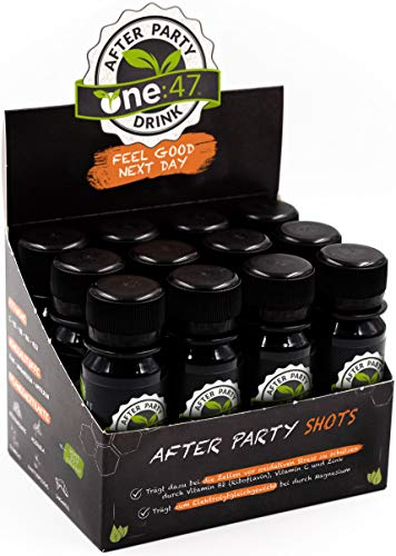 one:47 ® After Party Drink | 12 Shots | Feel good next day | Die originale geschützte one 47 Formel