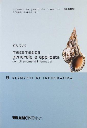 Nuovo Matematica generale e applicata. Per gli Ist. tecnici commerciali: 9
