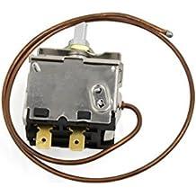 DealMux Vehículo metal Aire Acondicionado de la temperatura del termóstato