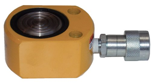 KS Tools 640.0150 Flach-Hydraulik-Zylinder, 20 t