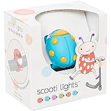 Buggi Lights BUGGISCOOTBOS - Luces LED, color azul y naranja