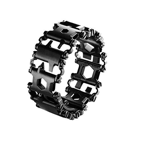 Crazywind Multifunktionsarmband Tragbares Armband-Schraubendreher-Werkzeug aus Edelstahl für Segelreisen