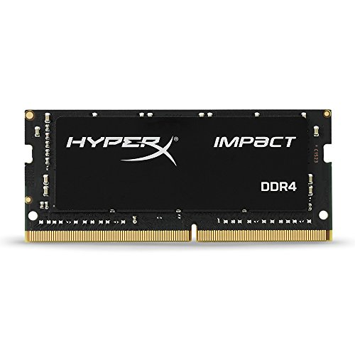 Kingston Technology HyperX Impact 16GB 2400MHz DDR4 CL14 260-Pin SODIMM Laptop Memory HX424S14IB 16