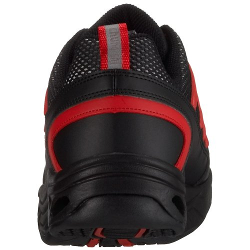 Chung Shi Comfort Step MAGIC, Scarpe da passeggio Uomo Negro (Negro/Rojo)