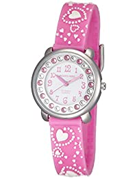 83a16d2ffaf8 Jacques Farel KLA9090 - Reloj de Pulsera Infantil con Piedras Brillantes
