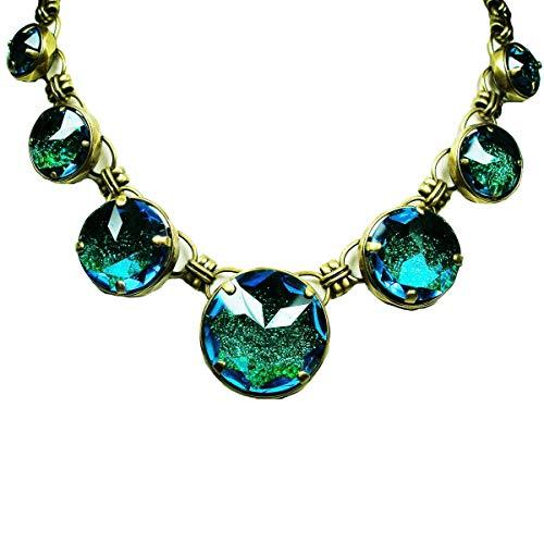 Konplott Medieval Pop Halskette Blue Green 4708