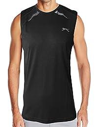 SLAZENGER Elite pour Homme Sport Gym pour femme New léger T-shirt sans manches pour femme