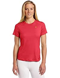 Sugoi Women's Jackie Short Sleeve Top, Rose Red, Small by SUGOi