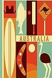 Australia diario de Viaje. Travel journal. Cuaderno exploradores. Wanderlust: Wanderlust Journals