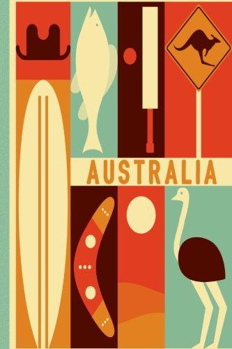 Australia diario de Viaje. Travel journal. Cuaderno exploradores. Wanderlust: Wanderlust Journals por Lana Barce