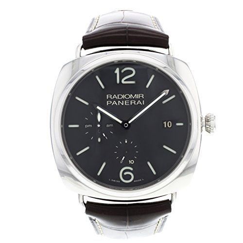 Officine Panerai PAM00323Radiomir 10Tage GMT Automatik ACCIAIO Stahl Herren-Armbanduhr