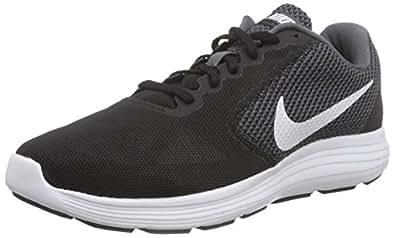 Nike Damen Revolution 3 Laufschuhe, Grau (Dark Grey/White-Black), 35.5 EU