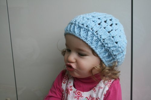 age inspired beret (51) newborn baby child teen and adult sizes (Crochet hats) (English Edition) (Costume Beret)