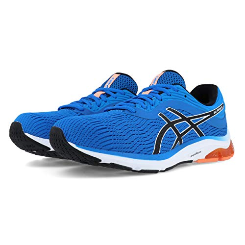 ASICS Herren Gel-Pulse 11 Laufschuhe, Blau (Directoire Blue/White 400), 42 EU - Running Asics Winter Shoes