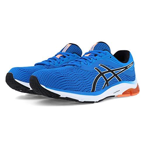 ASICS Herren Gel-Pulse 11 Laufschuhe, Blau (Directoire Blue/White 400), 42 EU - Winter Running Shoes Asics