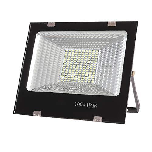 ,Scheinwerfer Wasserdichtes IP66-Arbeitslicht Im Freien, Standortbeleuchtung Für Gartenscheinwerfer (Farbe : 100W) ()
