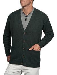 Wool Overs Gilet col V homme en laine d'agneau
