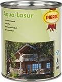 Pigrol Aqua Lasur 2,5L nussbaum umweltfreundliche Holzlasur für innen und aussen