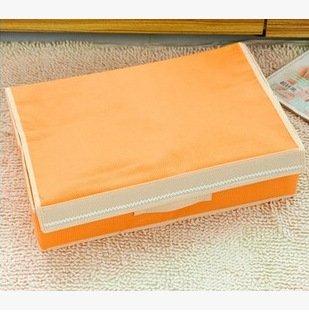 CUPWENH sous-vêtements de la boîte à Gants, Les sous-vêtements, Organiser Votre Boîte aux Lettres, (15+1: 49 * 32 * 12cm, Orange