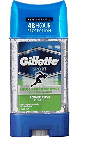 Gillette Sport Power Rush Antiperspirant Clear Gel 107gm with Ayur Product in Combo  available at amazon for Rs.1100