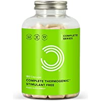 BULK POWDERS Complete Stimulant Free Fat Burner and Thermogenic for Weight Loss, Pack of 180 Capsules