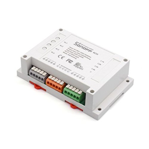 Sonoff 4ch Channel Télécommande Commutateur WiFI Module d'automatisation de la maison Interrupteur DIY de minuterie sans fil