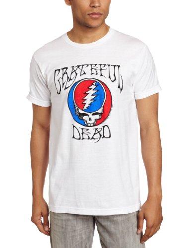 Impact Merchandising Men's Grateful Dead Steal Your Face Logo T-Shirt