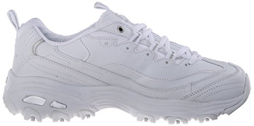 SKECHERS - D´Lites FRESH START 11931 - white silver White Silver