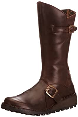 Fly London Mes, Womens Boots, Brown (Dk Brown 059), 2 UK