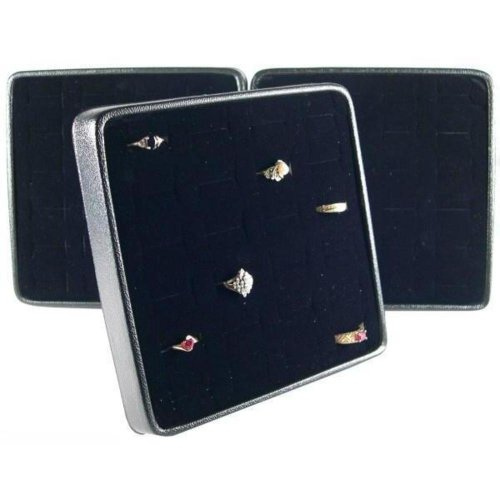 Findingking 3 Bague Easel Displays Jewelry Showcase Countertop pièce