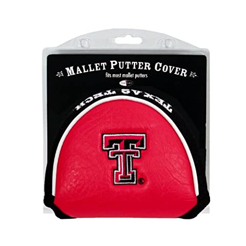 Team Golf 25131 Texas Tech Raiders Mallet Putter Cover