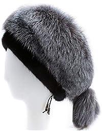 Jiaba2018 Accessori Abbigliamento Donna Inverno New Ordinato Cappucci con  Cappuccio Visone Cappello di Pelliccia Cappello di accb0253cf79