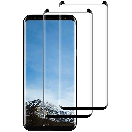 FayTun [2 Unidades Protector Pantalla Samsung Galaxy S8, Cristal Templado Samsung Galaxy S8, 9H Dureza,Alta Definicion, Anti-Blister Vidrio Templado Galaxy S8