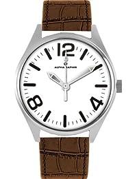 Alpha Saphir Herren-Armbanduhr 377B