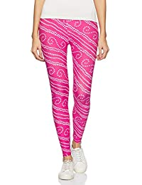 1 Stop Fashion Women's Leggings (PinkDiamond-1_Pink_One Size)