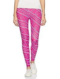 1 Stop Fashion Women's Leggings (PinkDiamond-1_Pink_One Size)
