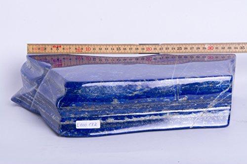Lapislazuli,Lapis,EX, geschliffen, poliert, Edelsteine, Mineralien, L000172