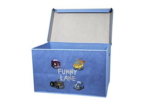 My Note Deco Funny Lane 064576 Toy storage box Independiente Azul, Multicolor caja de juguete y de almacenamiento - cajas de juguetes y de almacenamiento (Toy storage box, Azul, Multicolor, Independiente, Imagen, Cartón, Funny Lane)