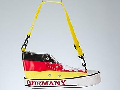 Amsinck+Sell 54932 - Schultertasche - Turnschuh Deutschlandflagge
