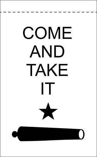 Nylon Flag (Flags Poles And More Kommen und Take IT 45,7x 30,5cm Nylon Garden Flag 18x 12Made in USA 45,7x 30,5cm)
